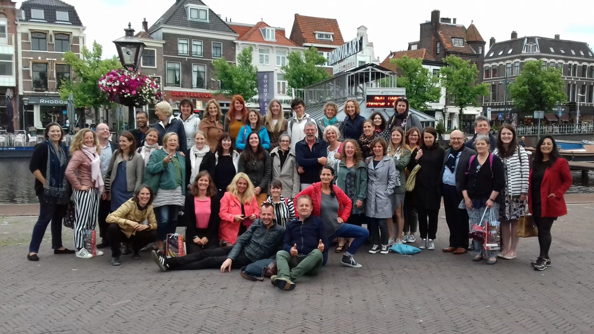 Group photo from the Age-friendly Cultural Cities Exchange Programme