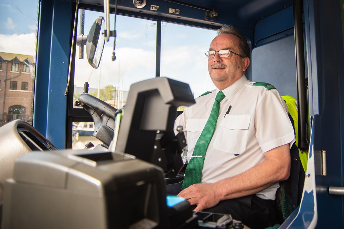 Bus driver, Isle of Wight