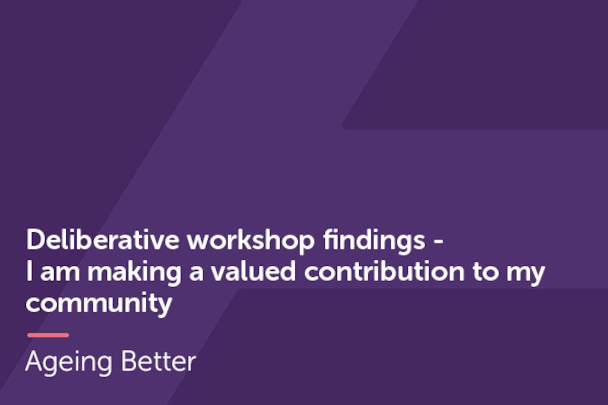 Deliberative Workshops Community Contributions