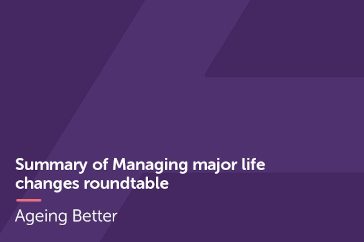Managing Life Changes Roundtable