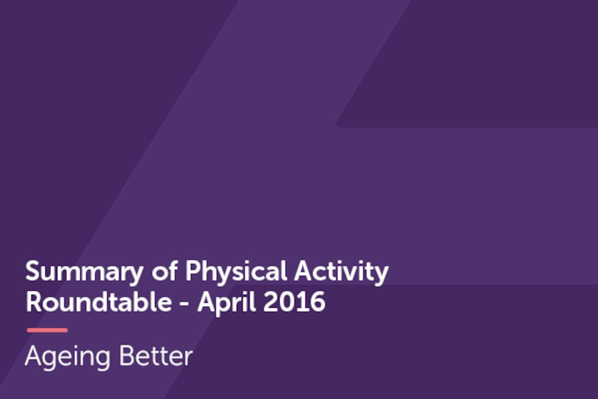Physical Activity Roundtable