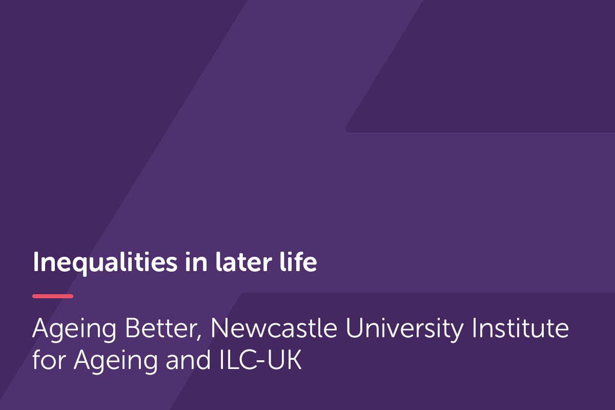 Inequalities in later life