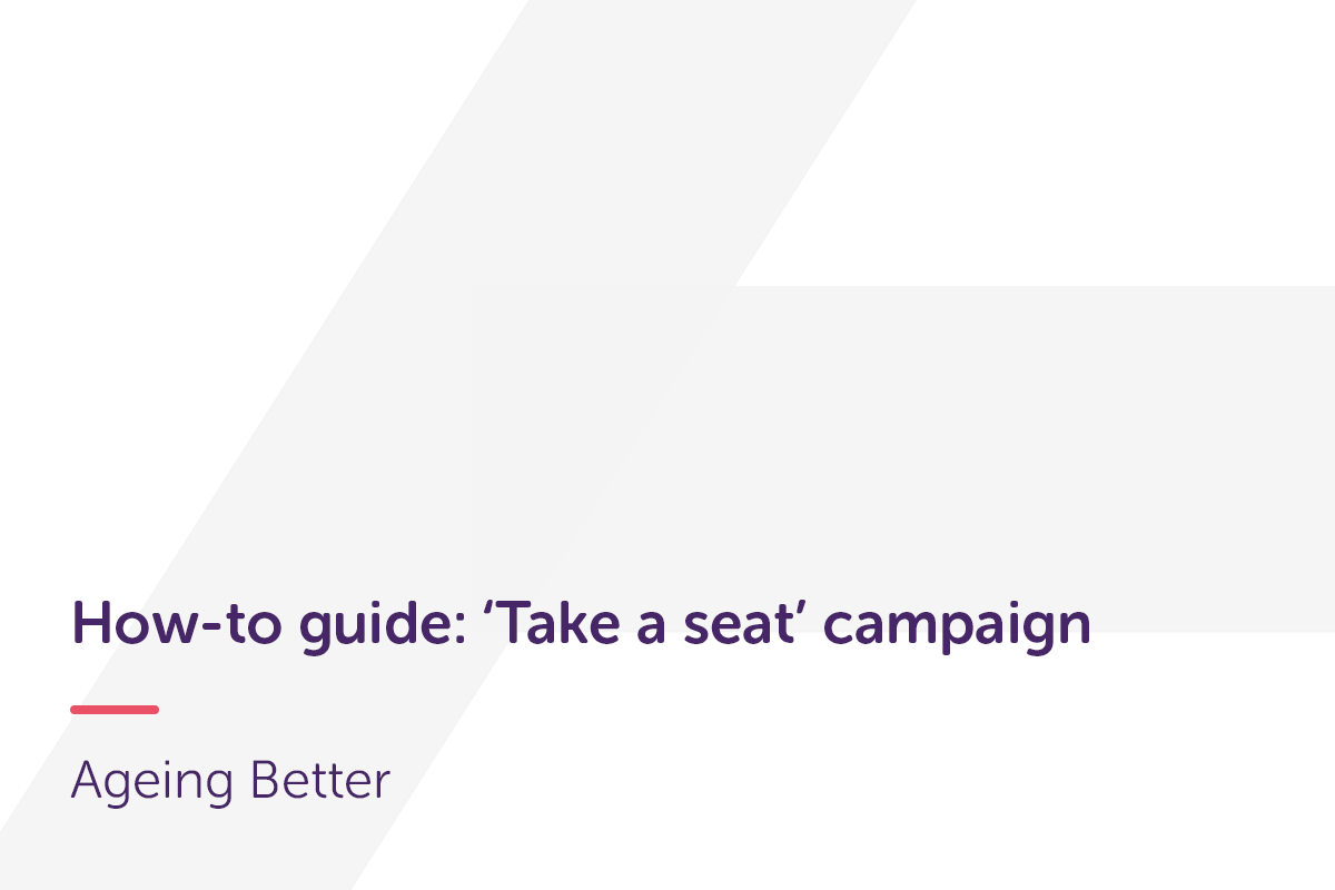 How-to guide for Take a seat campaign