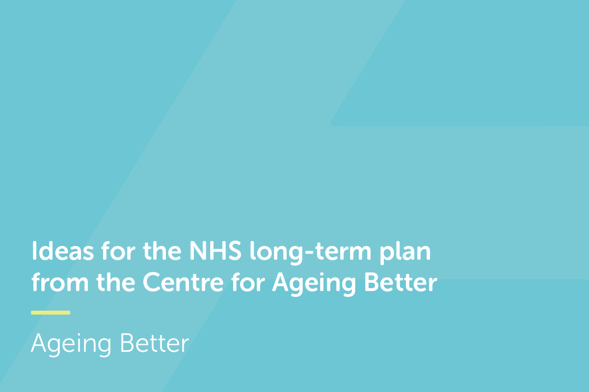 Ideas for the NHS long-term plan