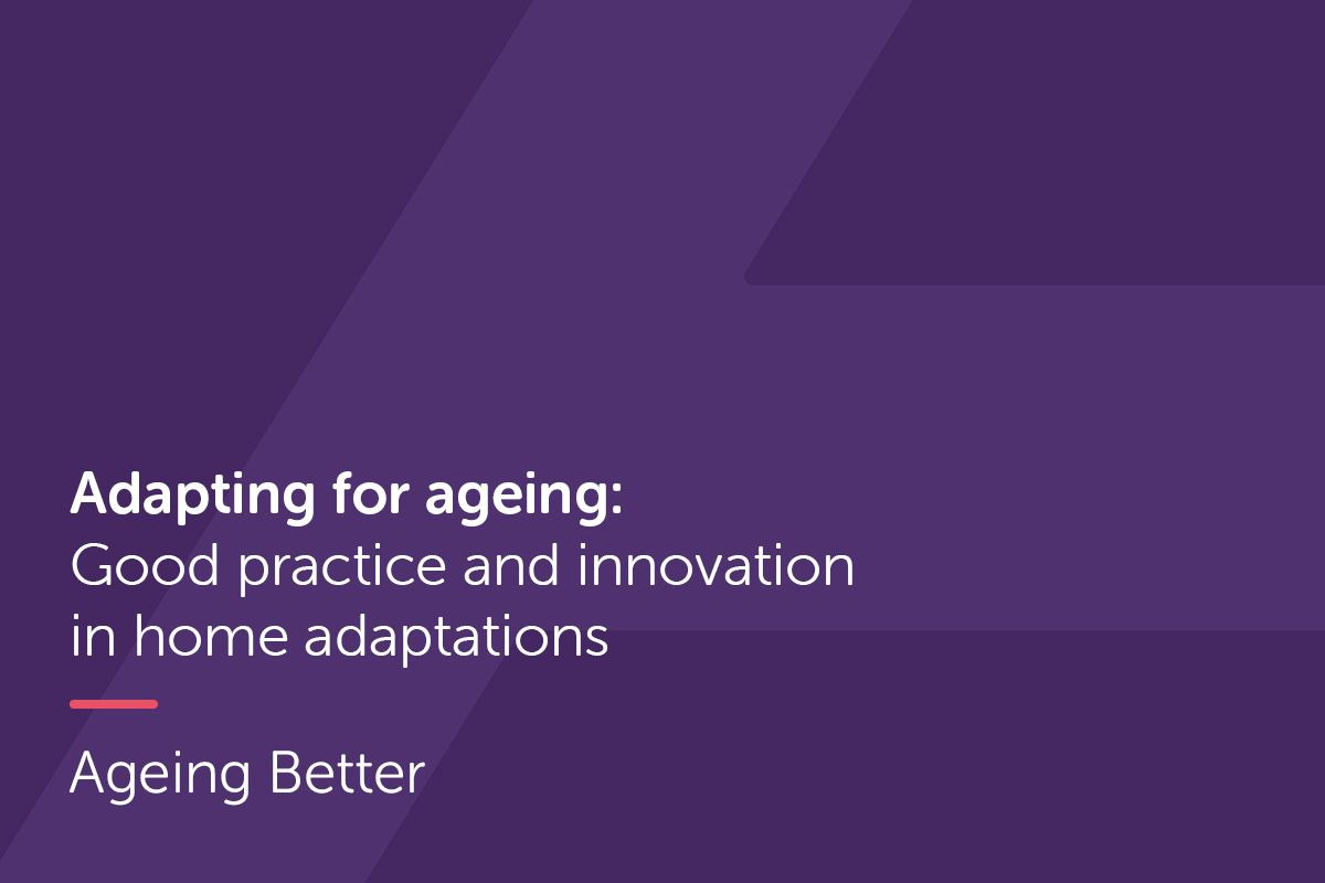 Adapting for ageing