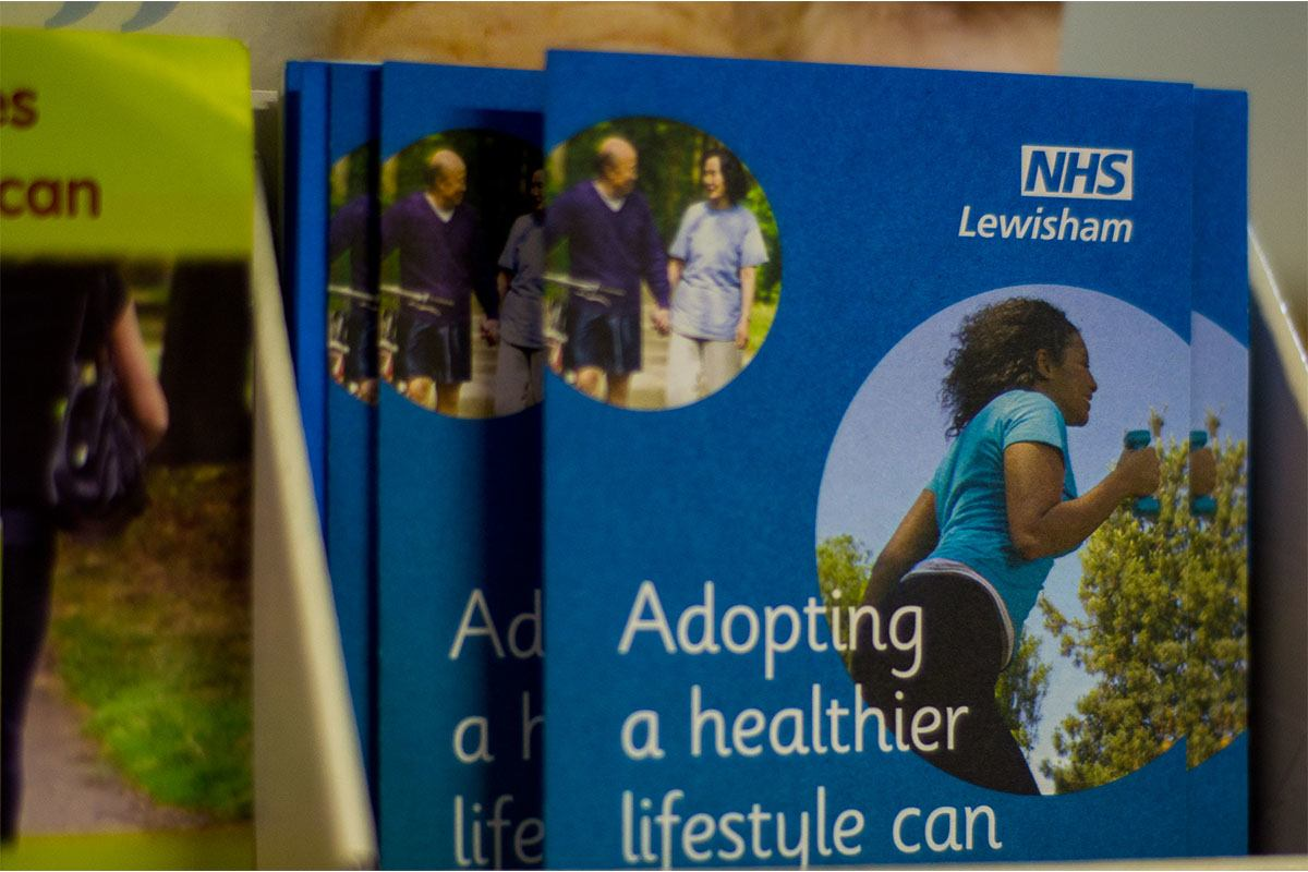 NHS booklet