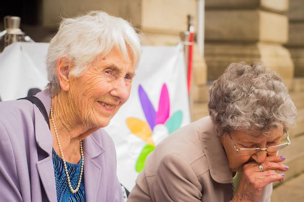 Joyce and Evelyn, Age-friendly Nottingham